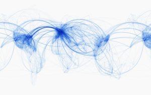 世界航空路由图